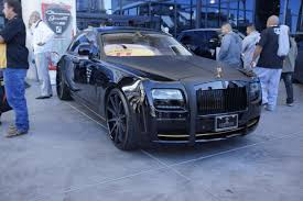 Rolls Royce Phantom Black 2013 Sema