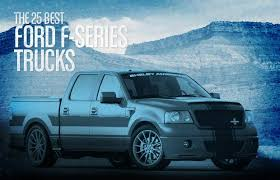 ford saleen truck 3 saleen s331 and s331 supercharged the 25 best ford f series