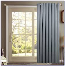 Thermal Curtains Patio Door by Patio Door Panel Curtain Track Set Patios Home Design Ideas