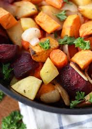 oven roasted root vegetables bren did