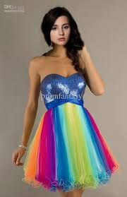 rainbow wedding dress dress mother of bride dress bridesmaid