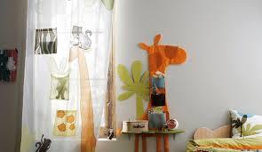 rideaux chambre d enfant idées rideaux courts