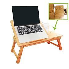 Bed Laptop Desk Laptop Desk Nnewvante Adjustable Laptop Desk Table 100 Bamboo