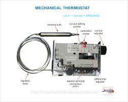 mechanical thermostat hermawan u0027s blog refrigeration and air