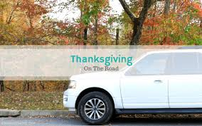tips for celebrating thanksgiving on the road