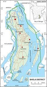 Map Of Bangladesh Bhola District Upazila Wise Mouza Maps U0026 Information