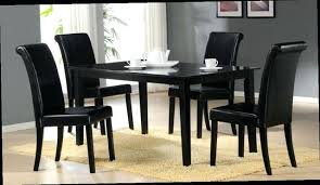black dining table chairs black table chairs black dining room chairs set of 4 images home