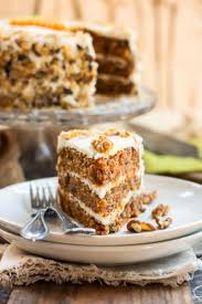 classic gluten free carrot cake with cheese frosting