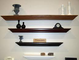 tasteful custom built modern wall shelves for book shelf as well