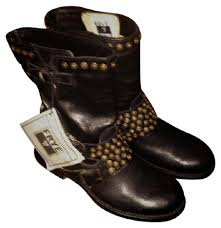 womens boots frye frye black studded womens boots booties size us 6