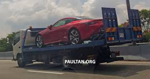 lexus lc price list lexus lc 500 spotted in malaysia launching soon