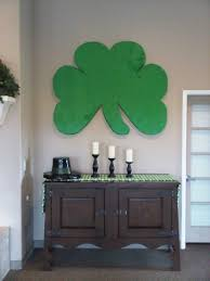 st patricks day 3 d office decorations art a model