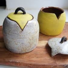 pottery kitchen canisters shop handmade pottery canisters on wanelo