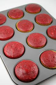 red velvet cupcakes mom loves baking