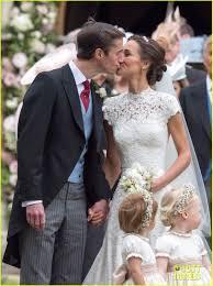 just married pippa middleton u0026 husband james matthews leave