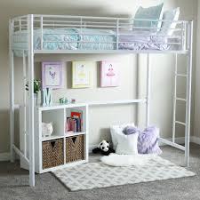 Metal Frame Loft Bed With Desk Bedroom Wooden Loft Bed With Desk Twin Size Bunk Beds Bunk Beds