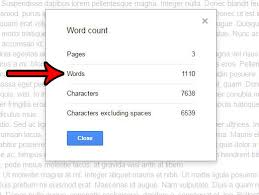 Count Word In Document How To Get A Word Count For A Document In Docs Solve Your