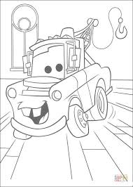 mater truck coloring free printable coloring pages