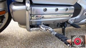 how to install kuryakyn ergo ii footpegs on honda goldwing gl1800
