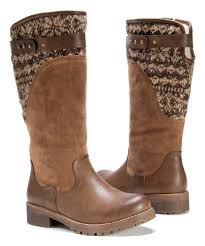 womens boots zulily this chestnut kelsey boot by muk luks on zulily