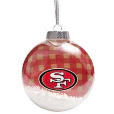 san francisco 49ers tree ornaments