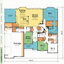 island house plans one story house plans with kitchen island home decorating design