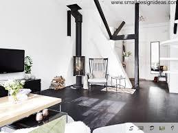 scandinavian style cozy apartment
