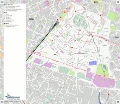 Metro Paris Map by Useful Information In Paris