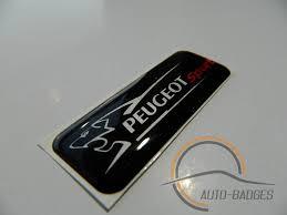 peugeot car badge peugeot sports badge emblem peugeot 5008 307 206 amazon co uk