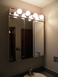 Bathroom Cabinet Lights Medicine Cabinet Lighting Construction