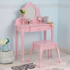 kidkraft medium diva table u0026 stool pink 13023 vanity tables