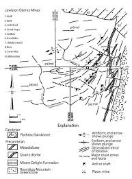map of oregon gold mines gold in wyoming