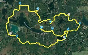 Hell Michigan Map by 2017 Viking Dash Trail Run Hell America Multi Sport