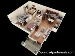 cincinnati apartments bedroom in liberty township 3d floor plan