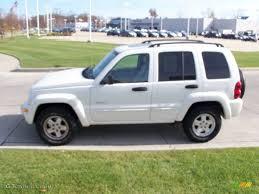 jeep liberty white 2004 stone white jeep liberty limited 4x4 55956880 photo 4