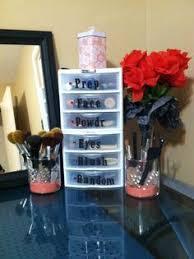 Hair And Makeup Storage Best 25 Diy Makeup Organizer Ideas On Pinterest Diy Makeup