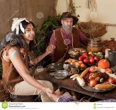 thanksgiving reenactment stock photo image of blessing 15930436