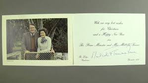 cards from malcolm fraser and tamie added to museum