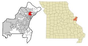 St Louis Mo Map File St Louis County Missouri Incorporated And Unincorporated