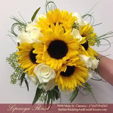 Sunflower Bouquets Sunflower Bridal Bouquet Buffalo Wedding U0026 Event Flowers By