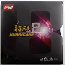 Dhs Table Tennis dhs hurricane 8 hard table tennis rubber