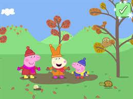 peppa pig seasons autumn winter app store