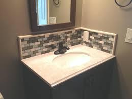 Backsplash Ideas For Bathrooms Bathroom Glamorous Backsplash Ideas For Bathroom Vanities Small