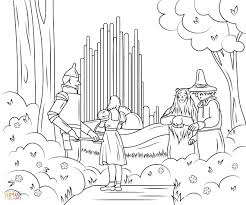 100 ideas wizard oz coloring pages printable