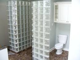 glass block bathroom ideas glass block bathroom inspiration of with shower showers ideas