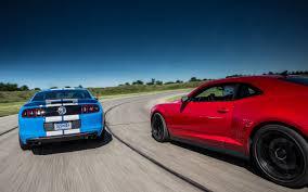 2012 vs 2013 camaro 2012 chevrolet camaro zl1 vs 2013 ford shelby gt500 on track