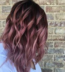 hombre style hair color for 46 year old women 38 rose gold hair color ideas 2017 hair color ideas pinterest