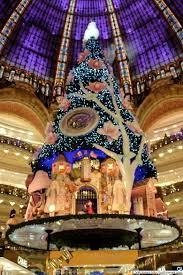 Christmas Trees In Paris Christmas Tree At Galeries Lafayette Blog About Paris Fashion