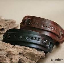 personalized engraved bracelets shop custom leather cuff bracelet on wanelo