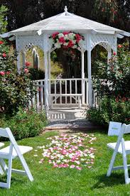 wedding arch gazebo pink and white gazebo florals flowerduet